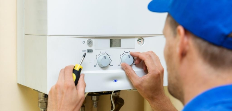 pressione caldaia idraulico consorzio caib bergamo
