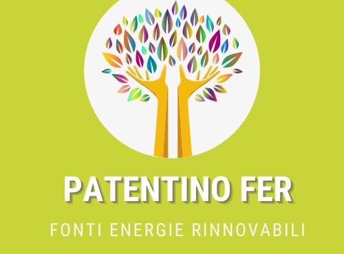Patentino FER Fonti Energie Rinnovabili Consorzio Caib