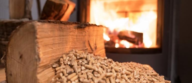 Apparecchi a biomassa